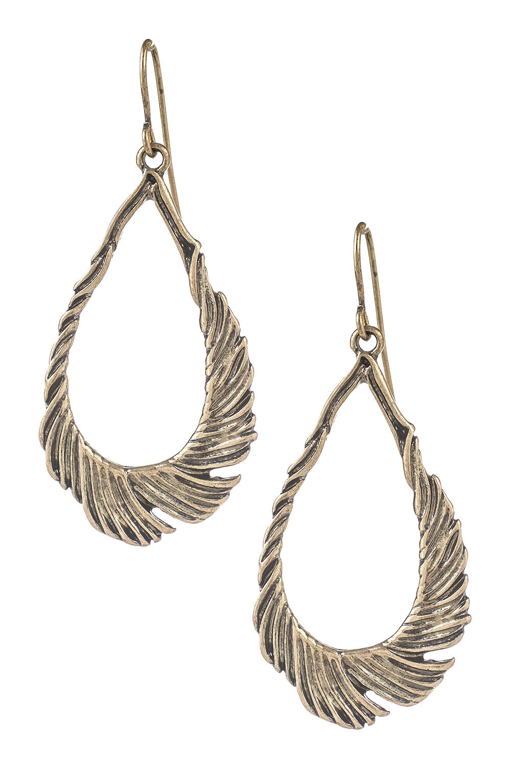 Type 3 Feather Fire Earrings