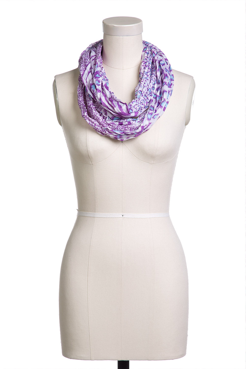Type 1 Scrunched Nose Scarf