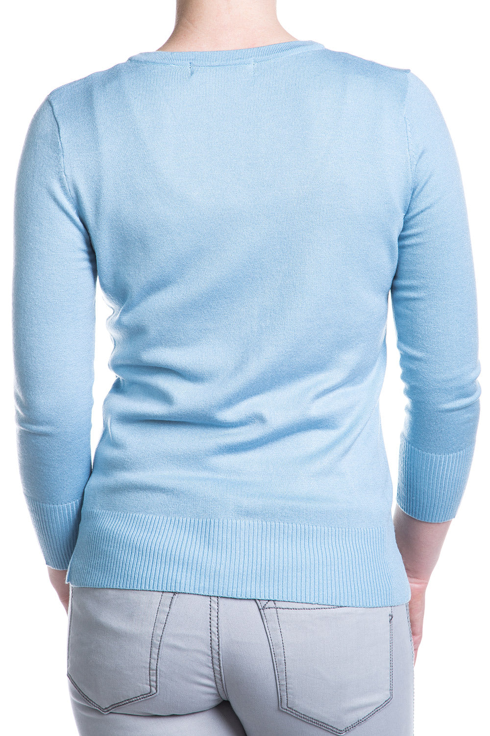 Type 2 Sky Blue Cardigan