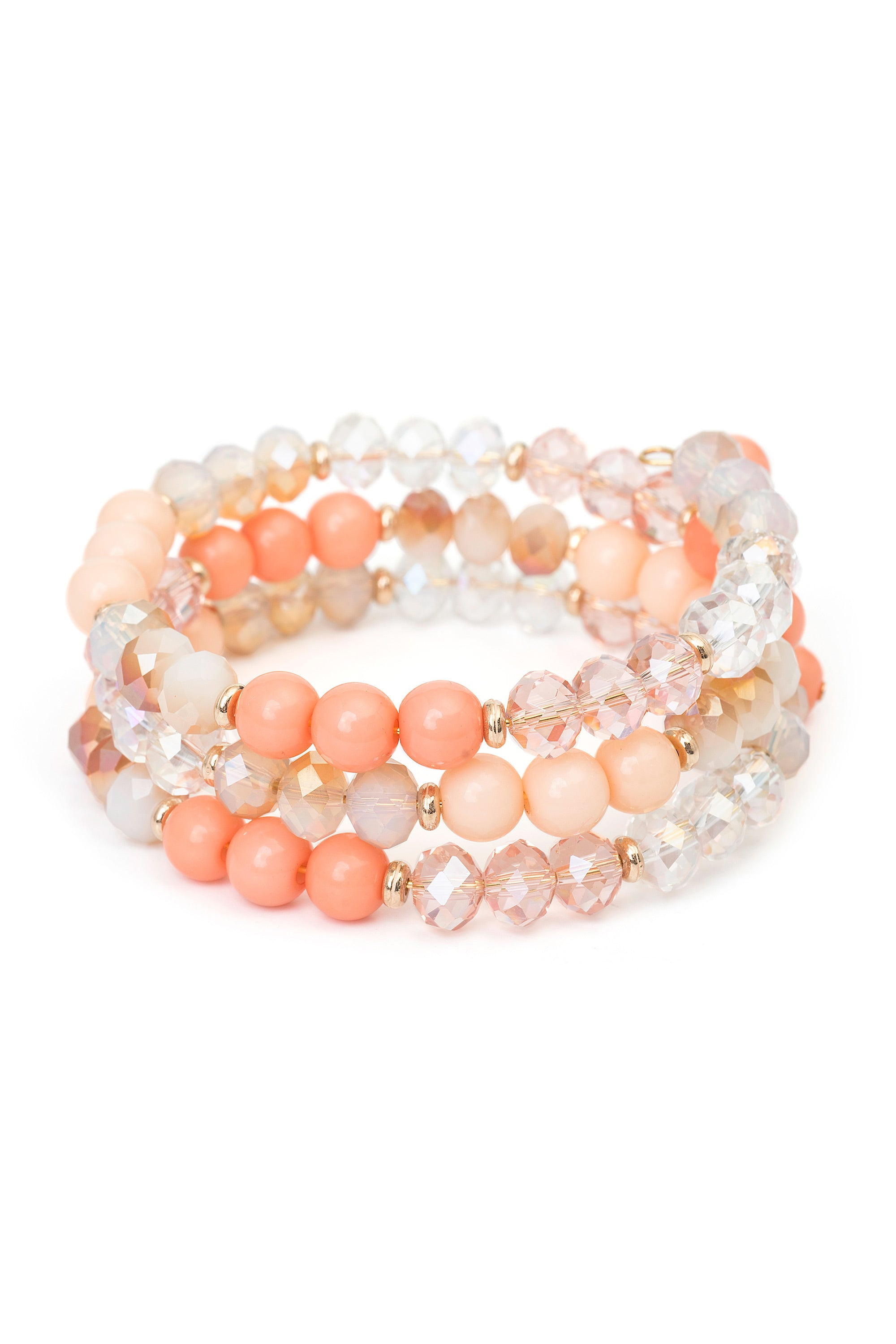 Type 1 Peaches 'N Cream Bracelet