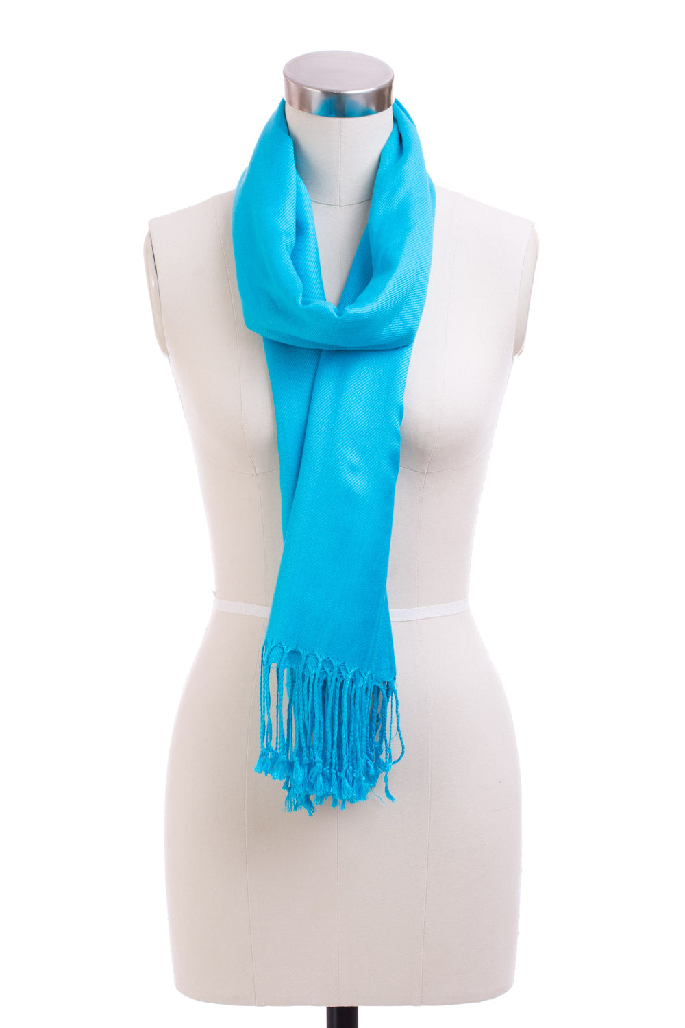 Type 4 Electric Blue Pashmina Scarf