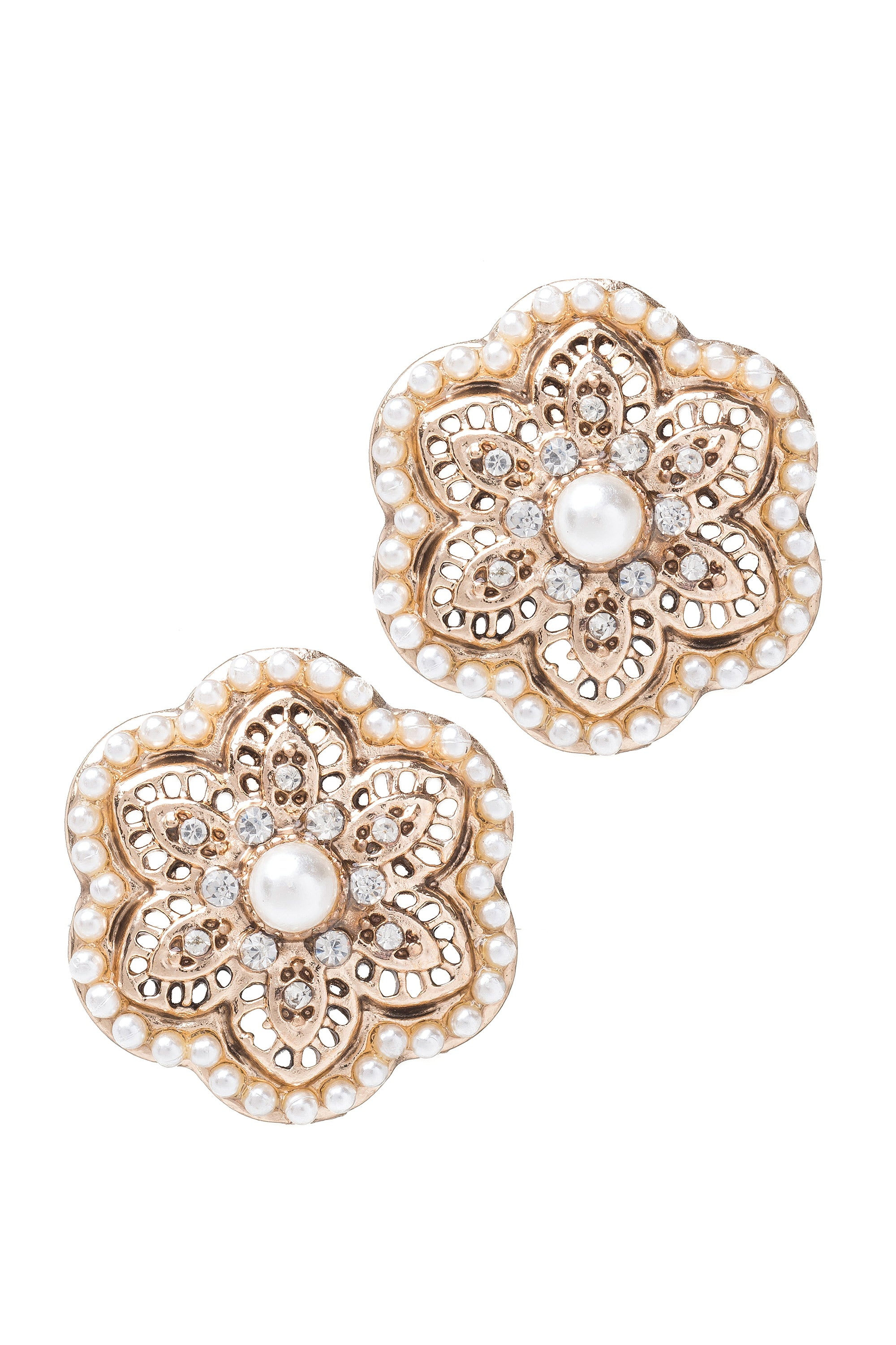 Type 1 Daffodil Doily Earrings