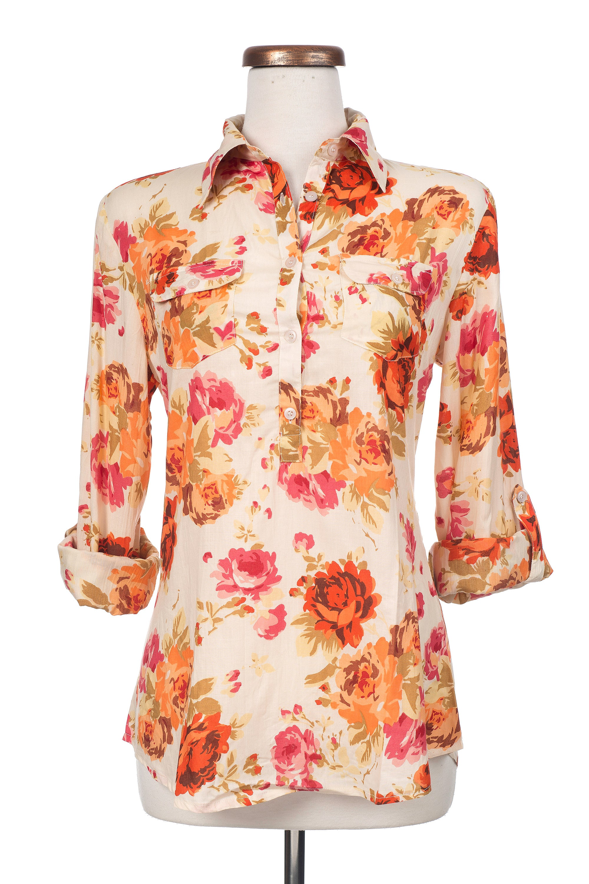 Type 3 Fall Floral Top