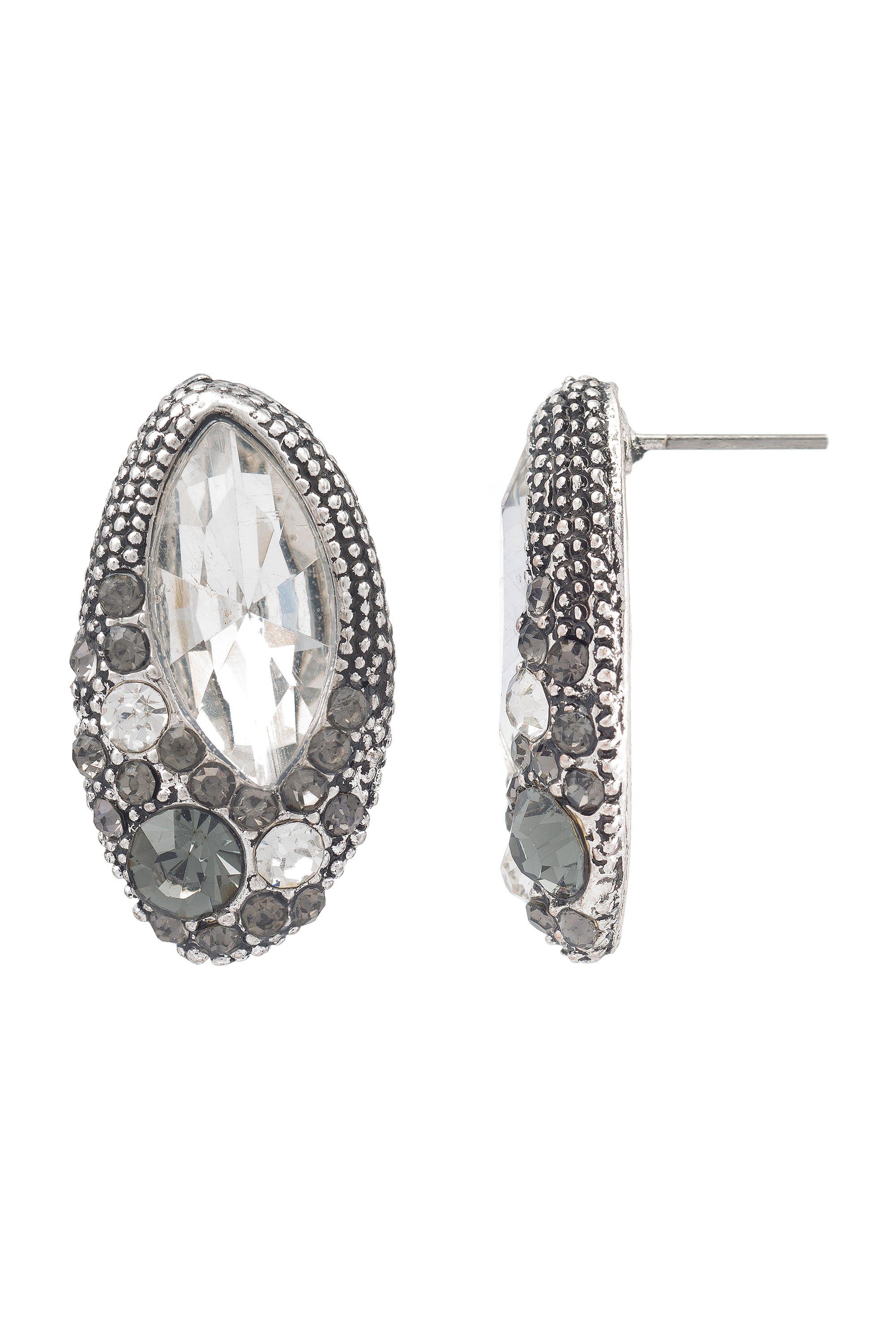 Type 2 Regal Rhinestone Earrings