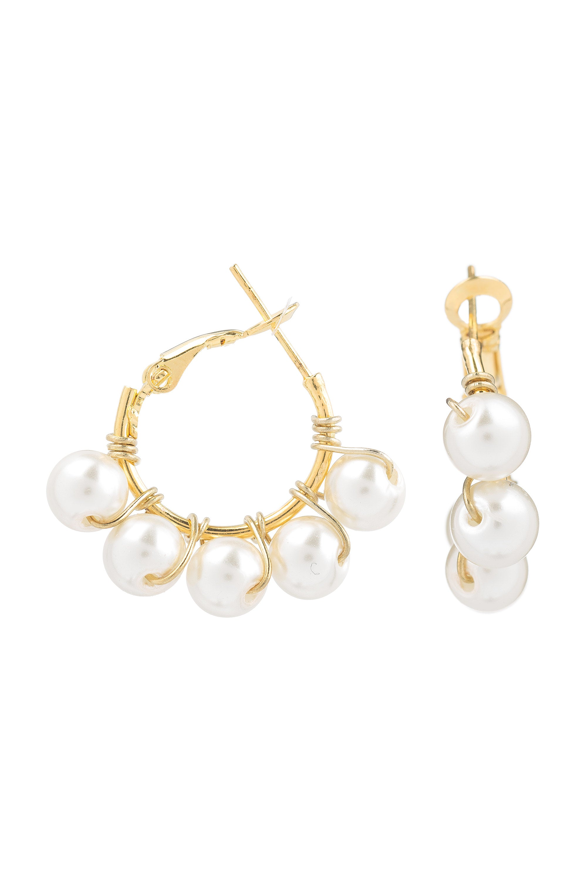 Type 1 Pearl Girl Earrings