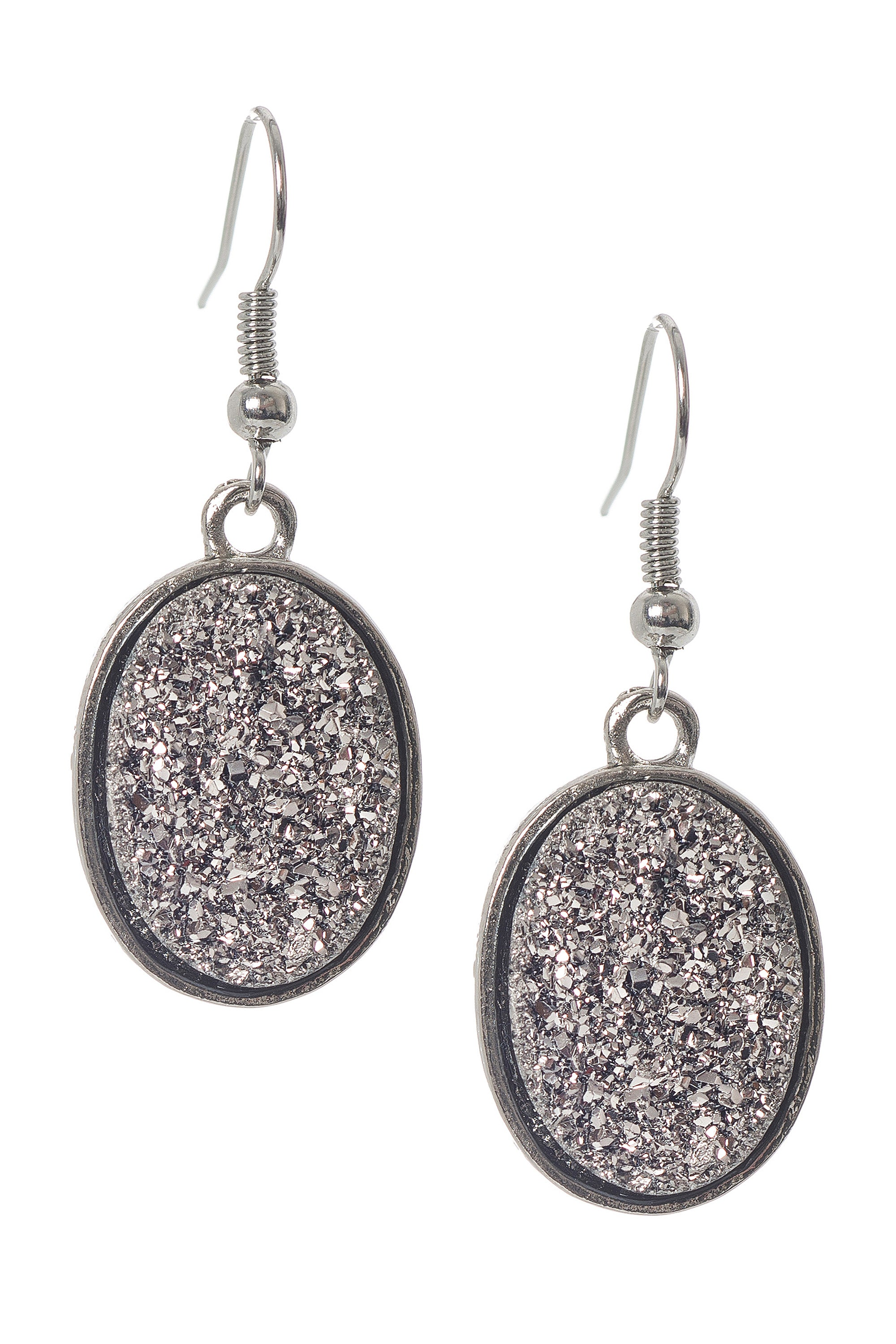 Type 2 Silver Mining Earrings