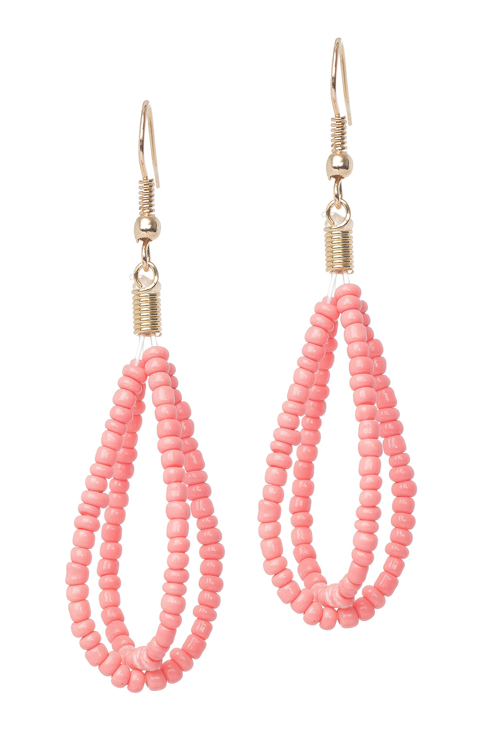 Type 3 Bound Beads Earrings