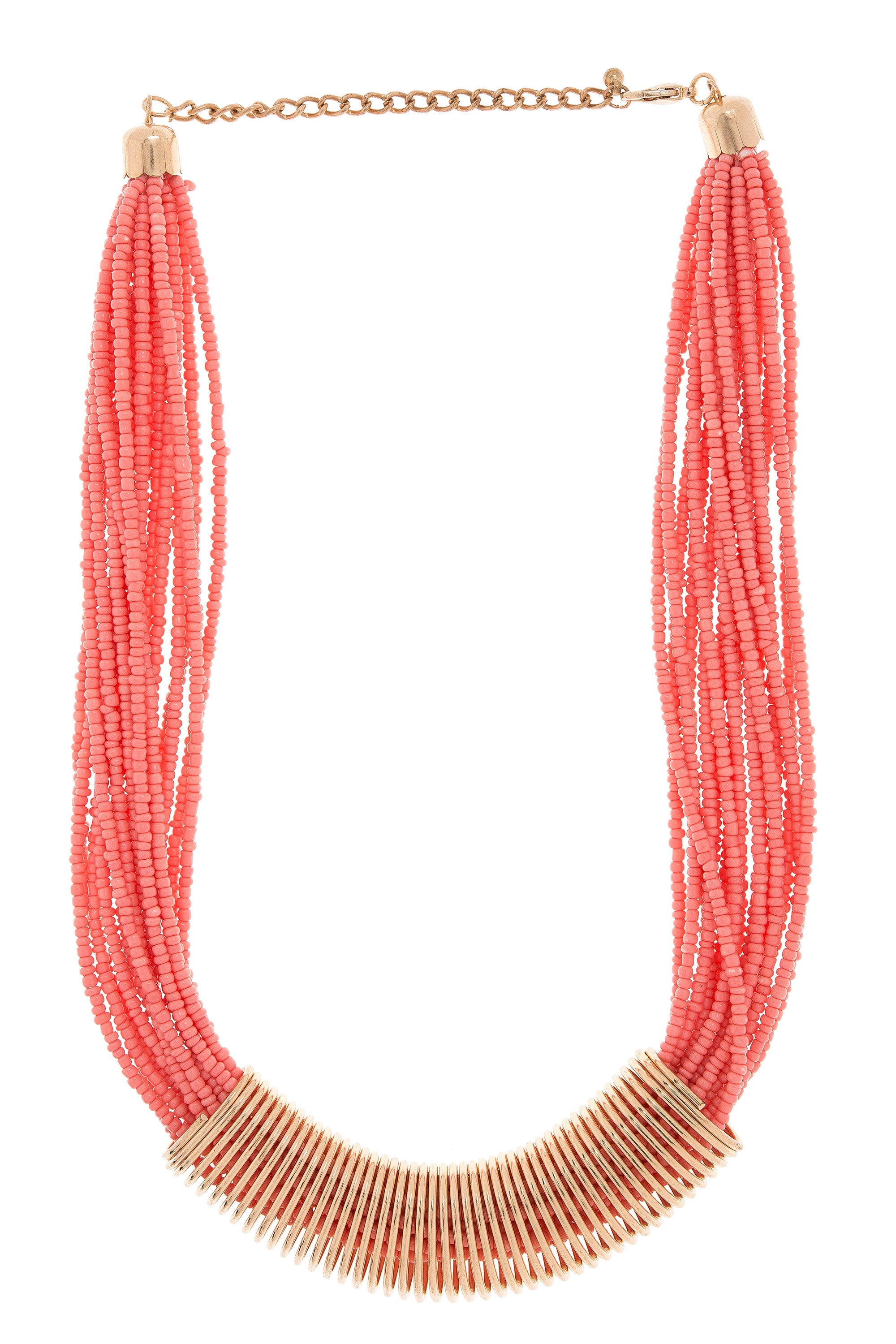Type 3 Bound Beads Necklace