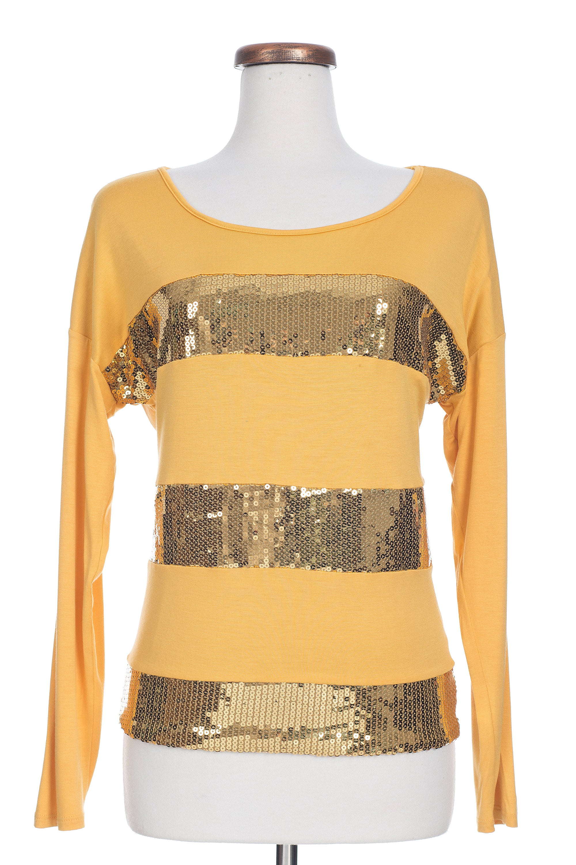 Type 3 Glimmering Gold Top