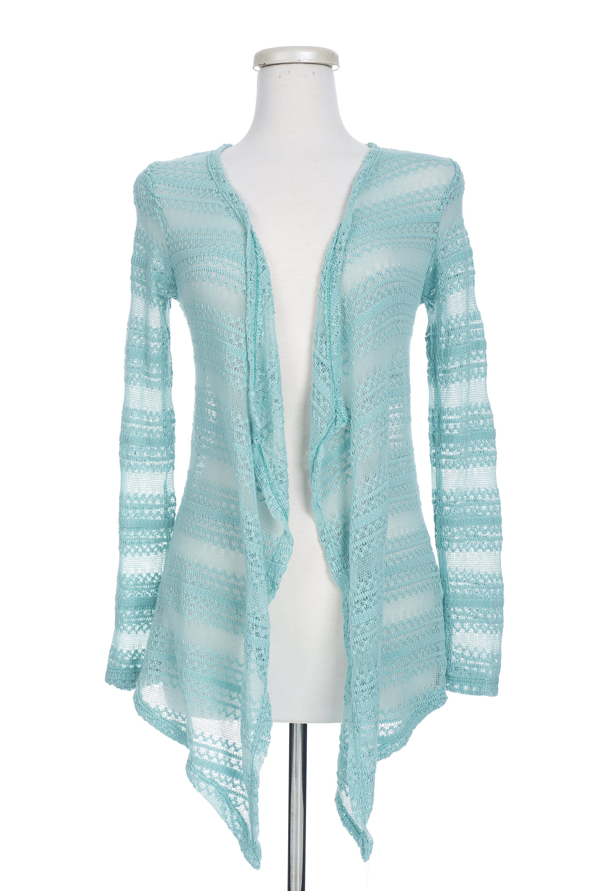Type 2 Blanched Blue Cardigan