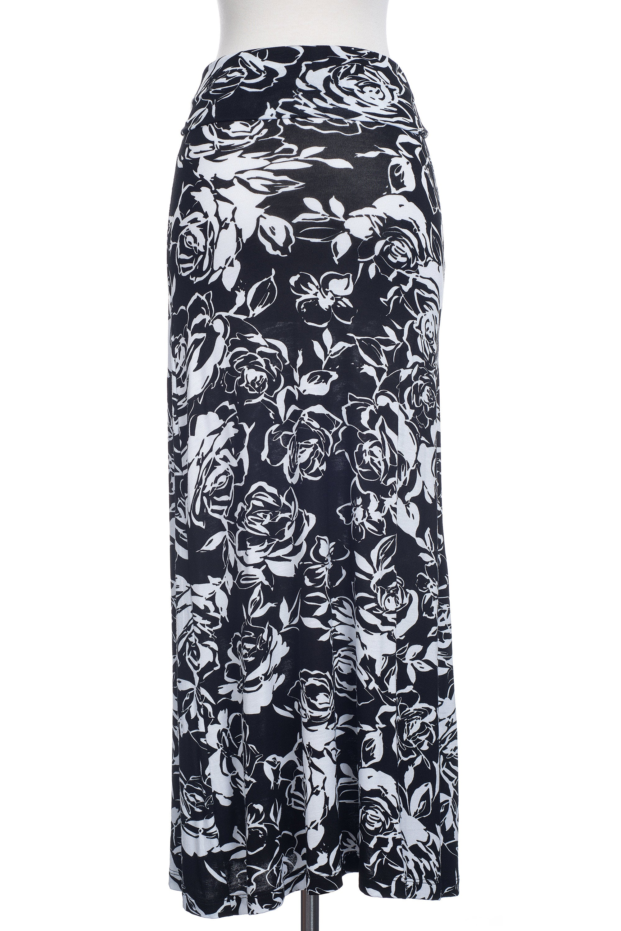 Type 4 Refined Roses Maxi Skirt
