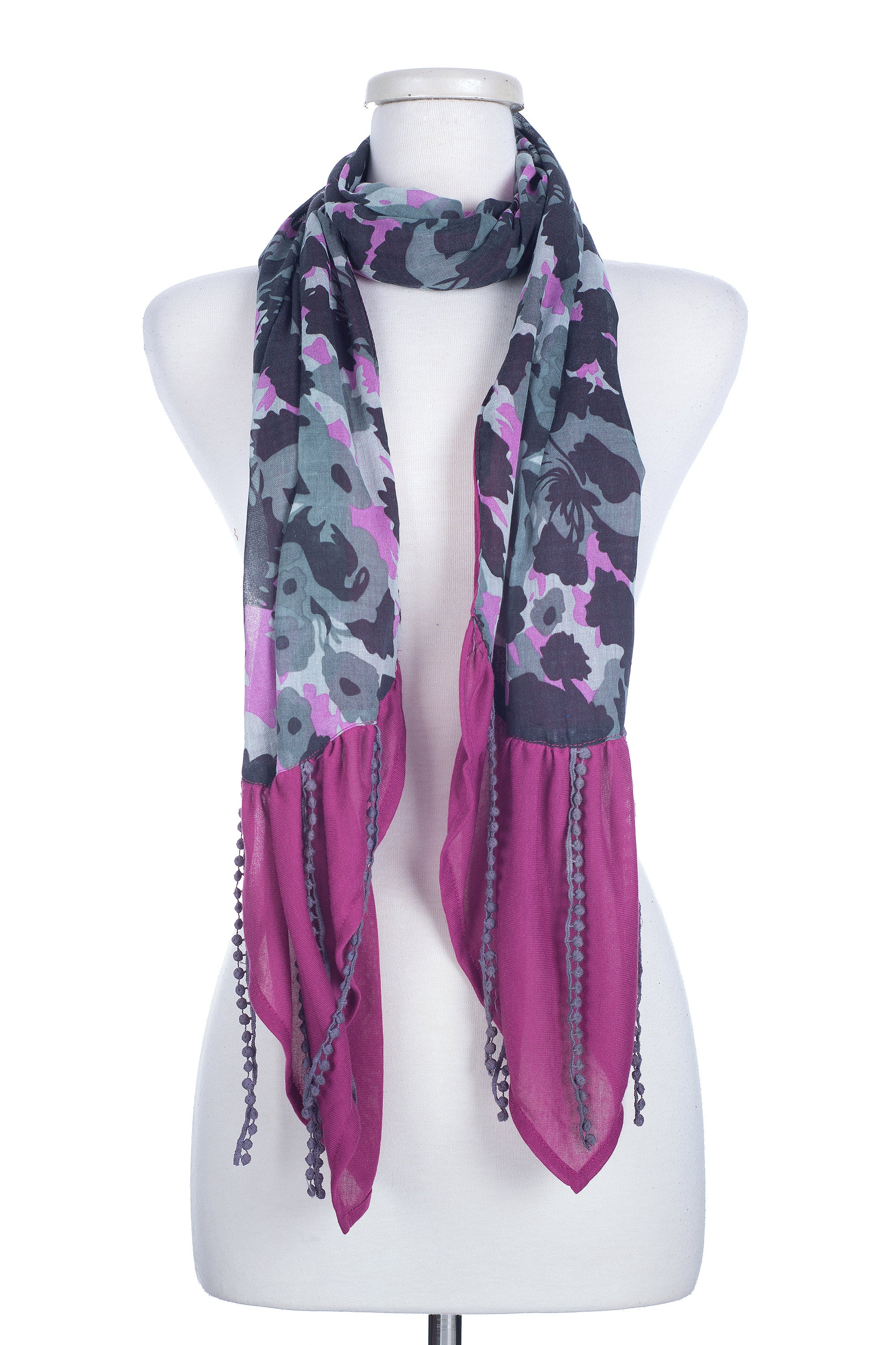 Type 2 Courtly Camouflage Scarf