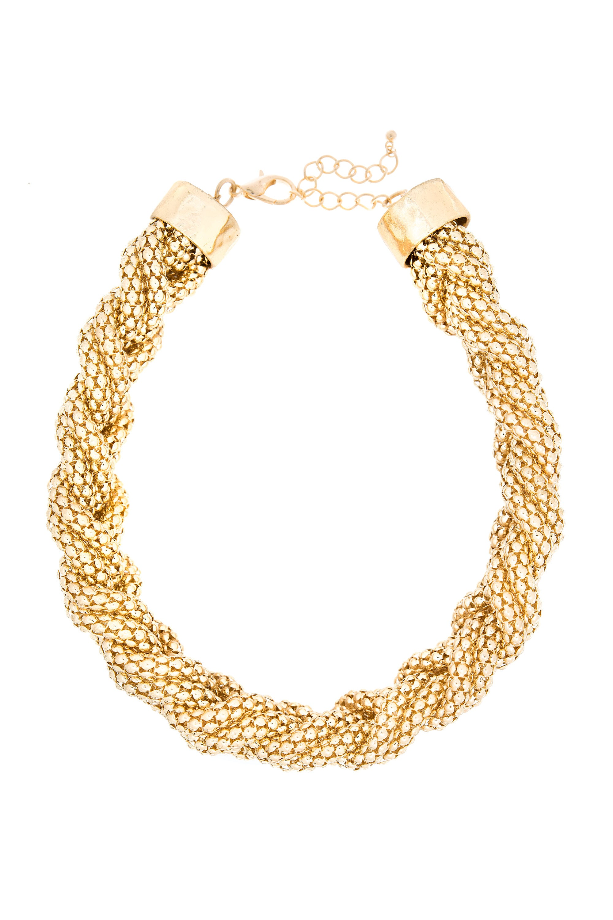 Type 3 Brassy Braid Necklace