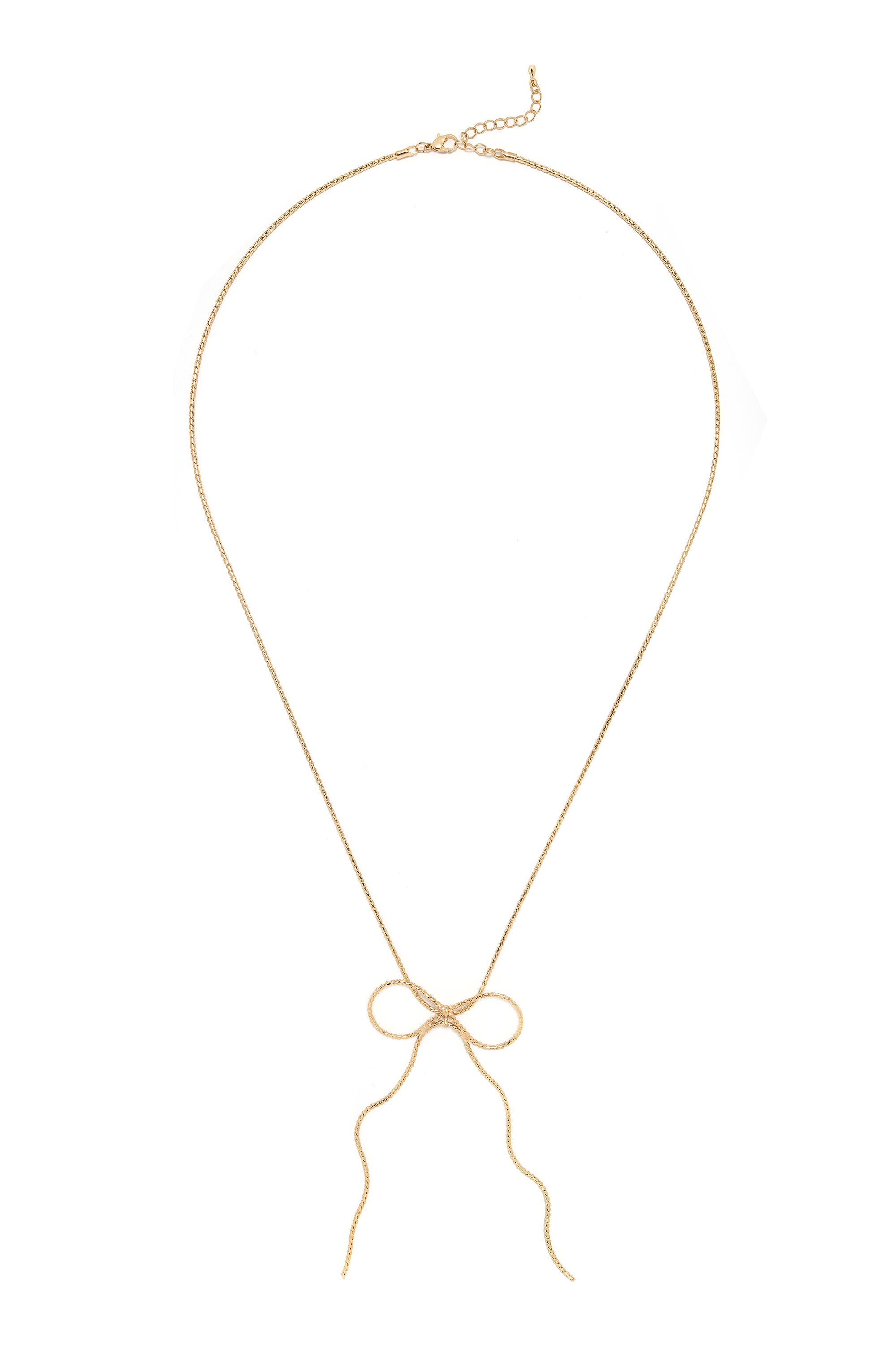 Type 1 Golden Bow Necklace
