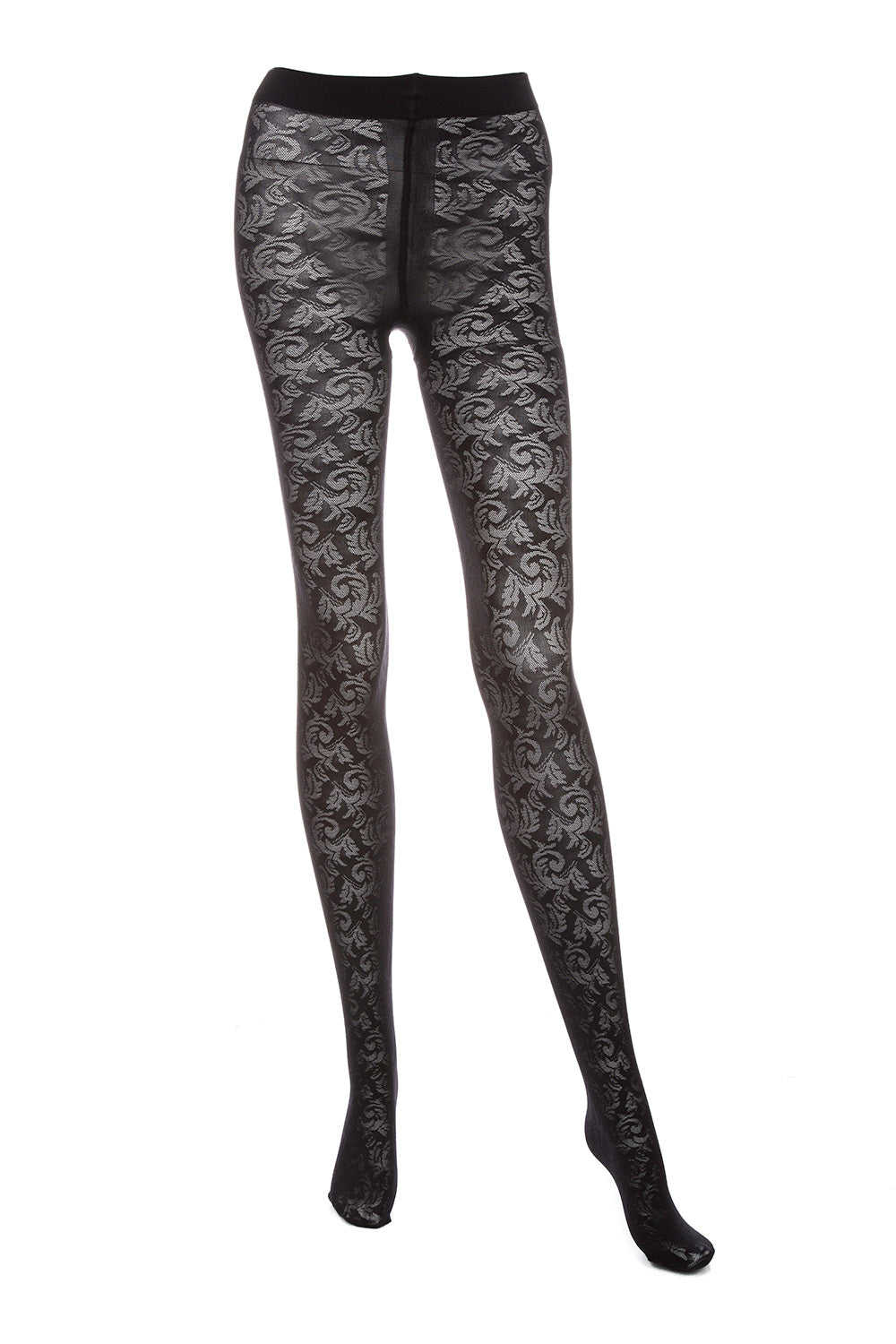Type 4 Black Rose Tights