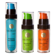 Acne Three Step Bundle - Skinue - Oily to Combination Skin made with Camel Milk - Skinue