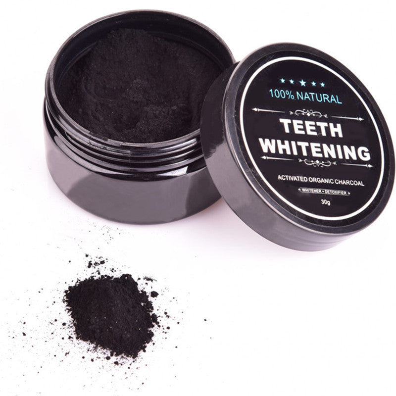 Activated Charcoal Teeth Whitening Powder - Skinue