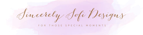Sincerely Sofi Designs