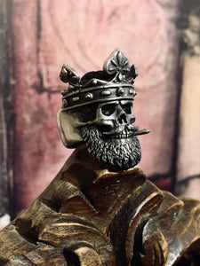 The King of Spades Ring ♠ - Infamous Beard Gang