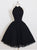 DUNTERY Short prom dress,  Simple Black Halter Short Prom Dress Homecoming Dress MK0515
