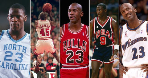 michael jordan all teams