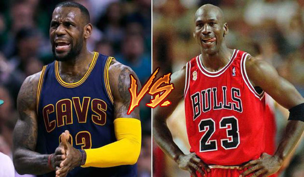 a3d0abdb631 Jordan vs Lebron GOAT Arguments are Trash! and here's why. – Hoop Merch