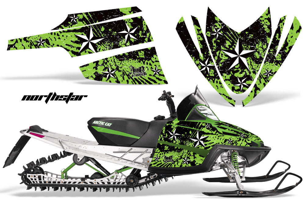 Hood Wrap Decal Nose Graphic Arctic Cat M Series Crossfire Sled Snowmobile AC-G