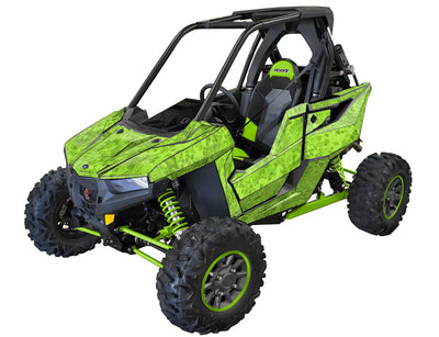 RZR RS1 - Cryptic Camo - BRIGHT GREEN