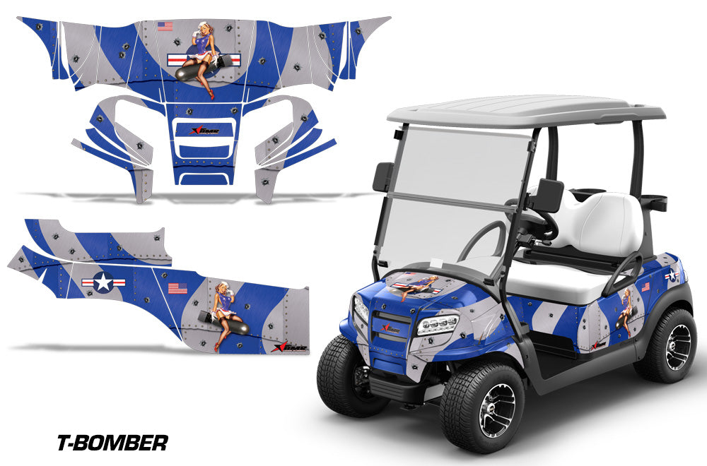 Club Car Onward Graphics - Invision Artworks Club Car Golf Cart Decals And Graphics on race car graphics, car and truck decals graphics, golf cart wraps and graphics,