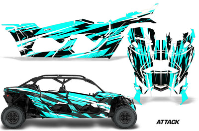 Attack - AQUA BLUE design