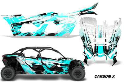 Carbon X - AQUA BLUE design