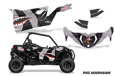P40 Warhawk - BLACK design
