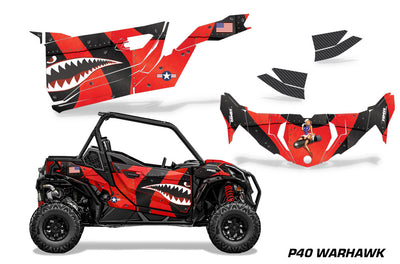 P40 Warhawk - RED design