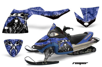 Polaris Fusion Snowmobile Graphics (2005-2007)