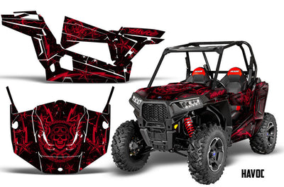 Polaris RZR 900S Graphics Kits (2015-2016)