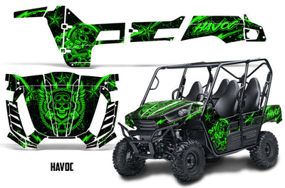 Havoc - Bright Green design