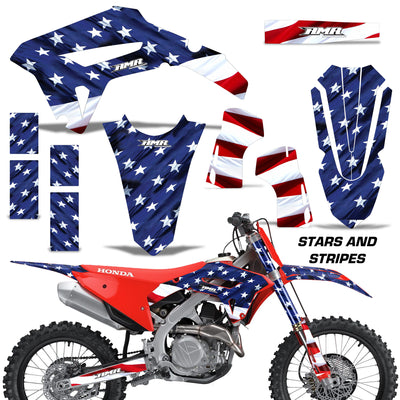Stars & Stripes shown with no number plate coverage