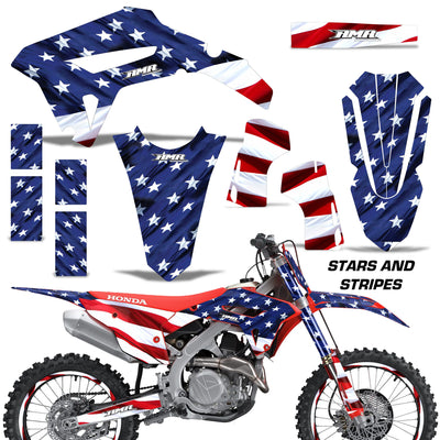 Stars & Stripes shown with number plate area covered