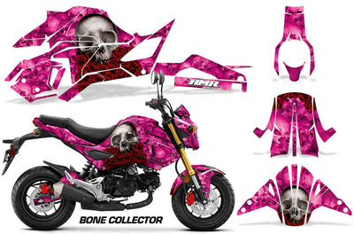 Bone Collector - PINK background