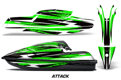 Attack - GREEN design