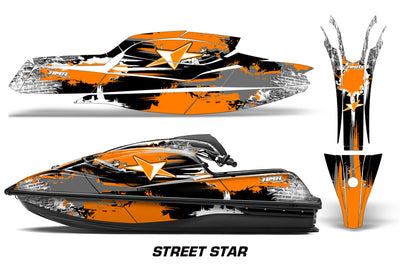 Street Star - ORANGE design