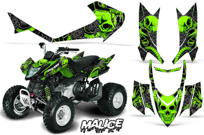 Malice - Bright Green design
