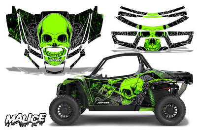 Malice - Bright Green design / Textron Wildcat XX