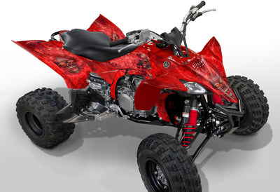 Yamaha YFZ 450R Graphics (2009 & Newer)