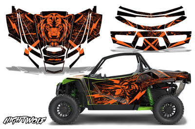 Night Wolf - ORANGE design / Textron Wildcat XX