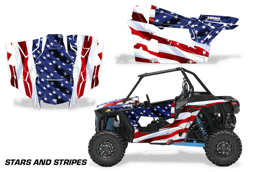 Polaris RZR 1000 Wraps - Invision ATV, Motocross & UTV Graphics