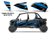 Polaris RZR 1000XP Lower-Door OEM Graphics for 4-Door