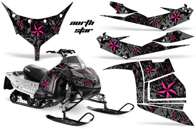 Polaris IQ Race 600 Snowmobile Graphics