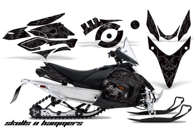 Yamaha Phazer RTX, GT (2007-2016) Snowmobile Graphics