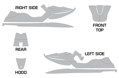 Sea Doo XP Bombardier XP Graphics (1994-1996)